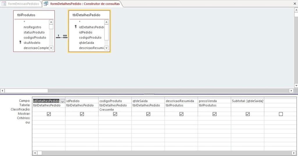 [Resolvido]Dados do subformulário não estão sendo salvos na tabela Consul10