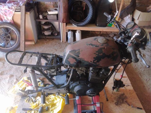Cafra 400GSX Demont10