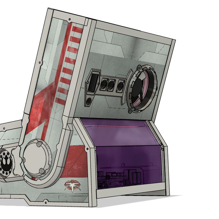 [WIP] Mini PINCAB Star Wars Death Star Assault Back10