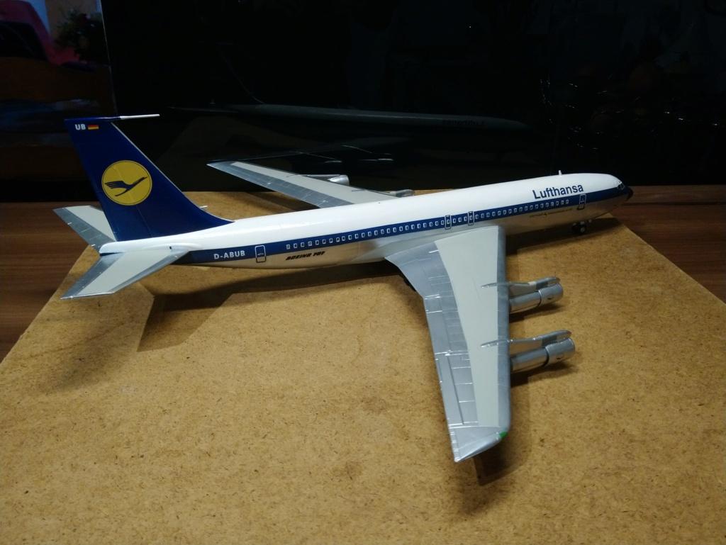 [Heller] Boeing 707-320B - Lufthansa - fini Dsc_0427