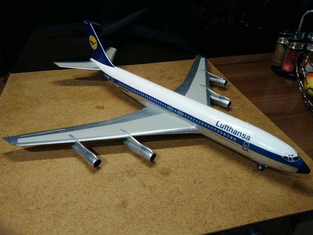 [Heller] Boeing 707-320B - Lufthansa - fini Dsc_0428