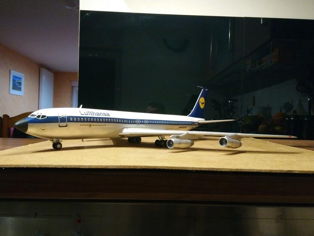 [Heller] Boeing 707-320B - Lufthansa - fini Dsc_0429