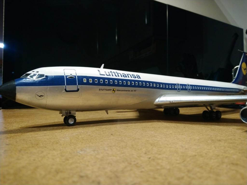 [Heller] Boeing 707-320B - Lufthansa - fini Dsc_0430