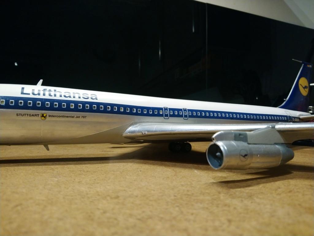 [Heller] Boeing 707-320B - Lufthansa - fini Dsc_0431