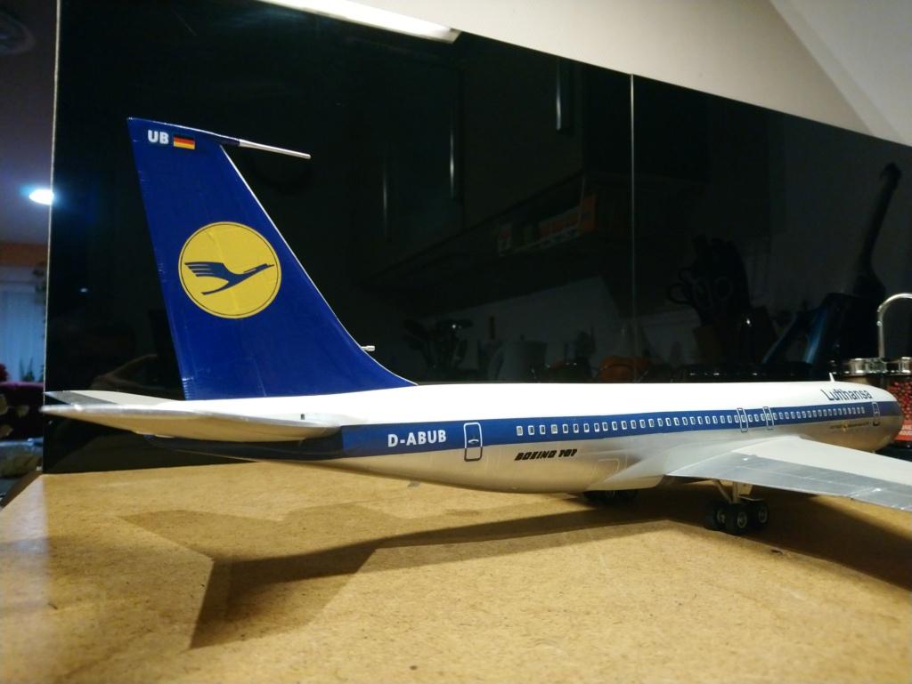 [Heller] Boeing 707-320B - Lufthansa - fini Dsc_0432