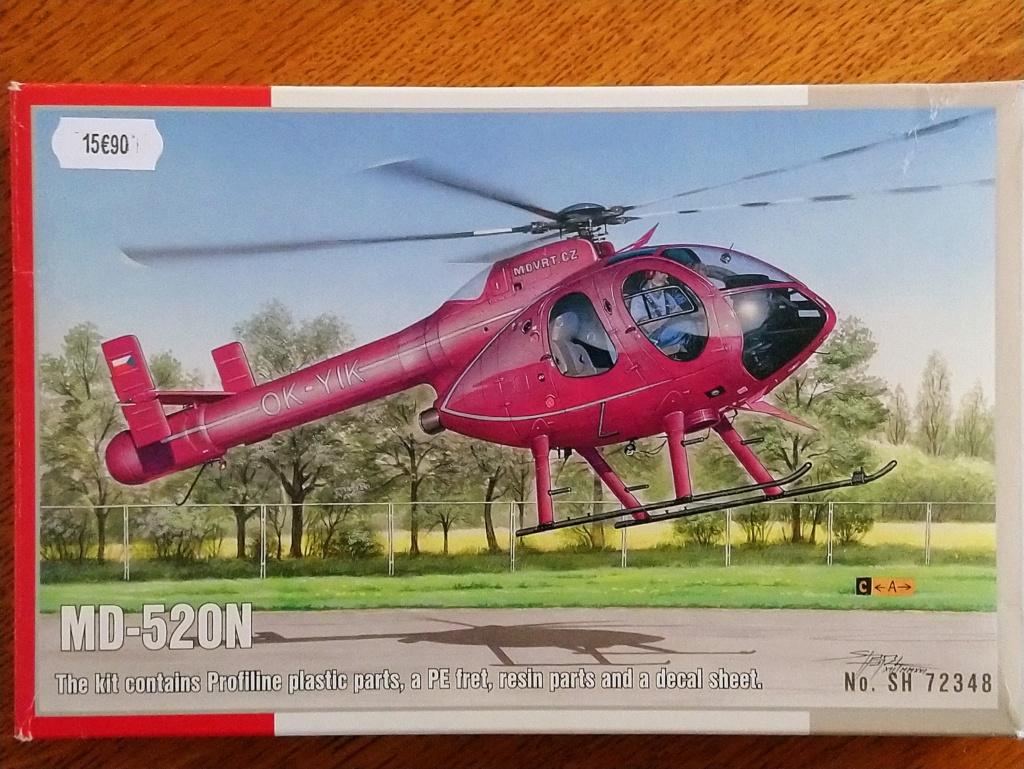 [ Spécial Hobby ]  MD-520N hélicoptère civil sans rotor anti couple. fini Dsc_0532