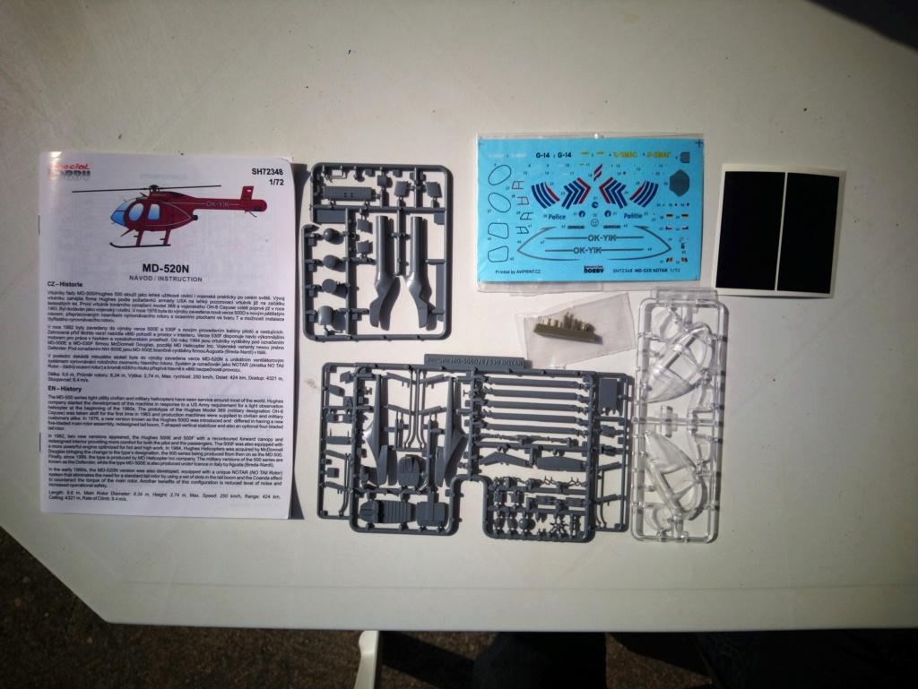 [ Spécial Hobby ]  MD-520N hélicoptère civil sans rotor anti couple. fini Dsc_0533