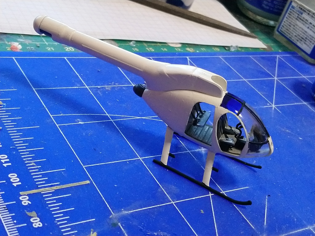 [ Spécial Hobby ]  MD-520N hélicoptère civil sans rotor anti couple. fini Dsc_0548