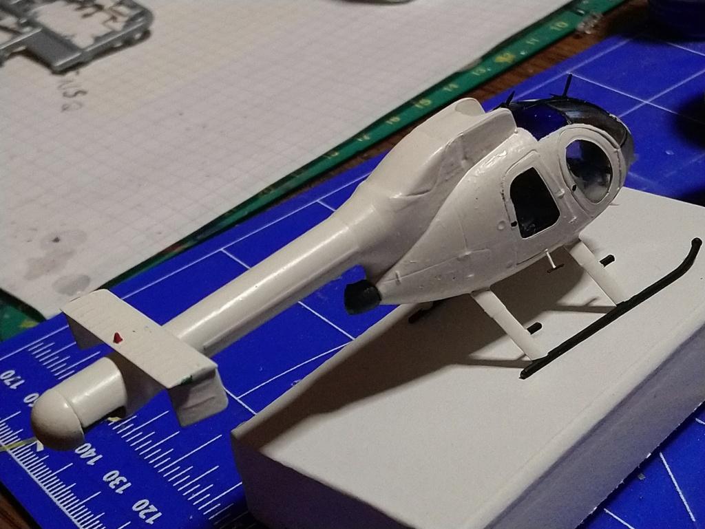 [ Spécial Hobby ]  MD-520N hélicoptère civil sans rotor anti couple. fini Dsc_0549