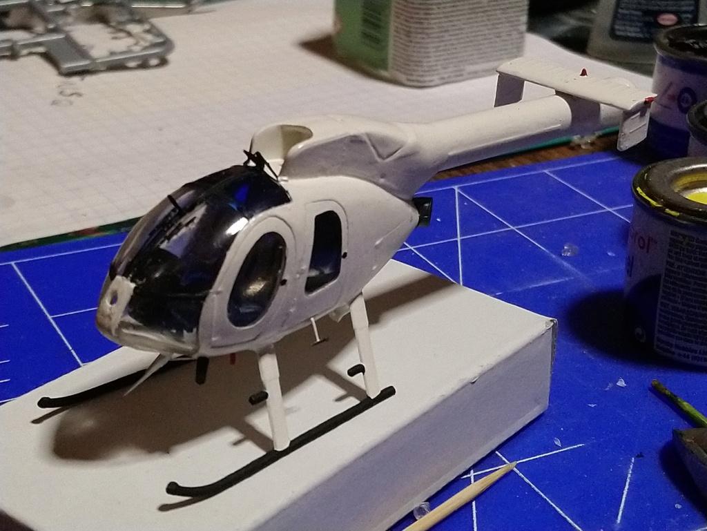 [ Spécial Hobby ]  MD-520N hélicoptère civil sans rotor anti couple. fini Dsc_0550