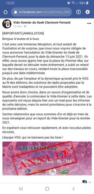 Vide grenier geek Clermont Ferrand 2021 [annulé] Screen12