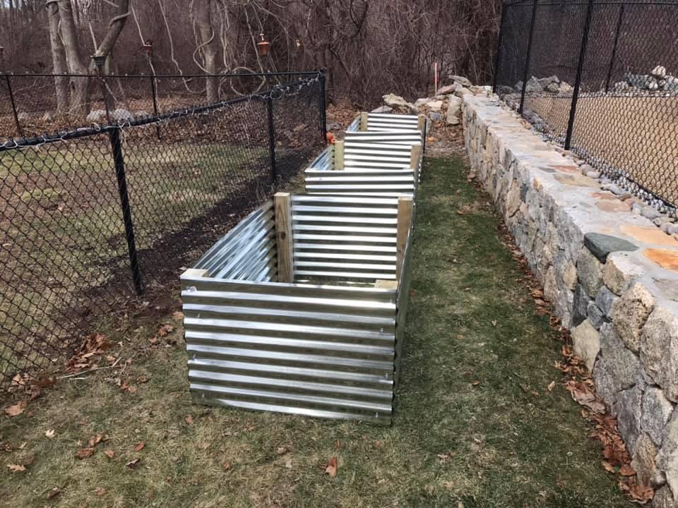 "My new garden area 3'X5'x26"" raised beds (build start) Raised11"