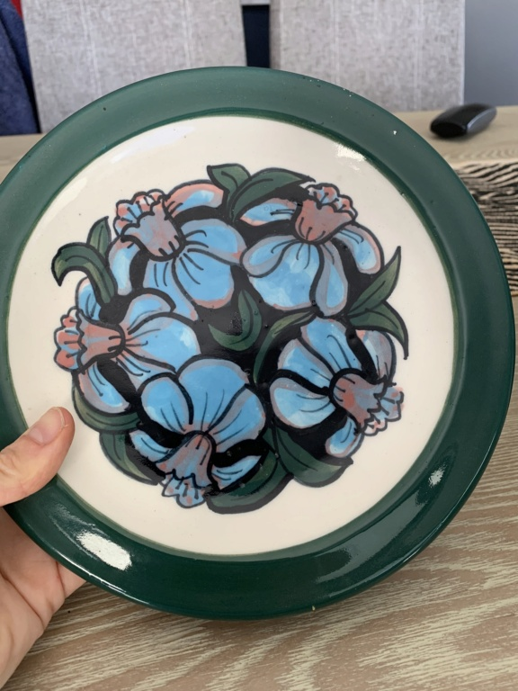Painted jug & plate identification is by Airini Taylor 71172d10