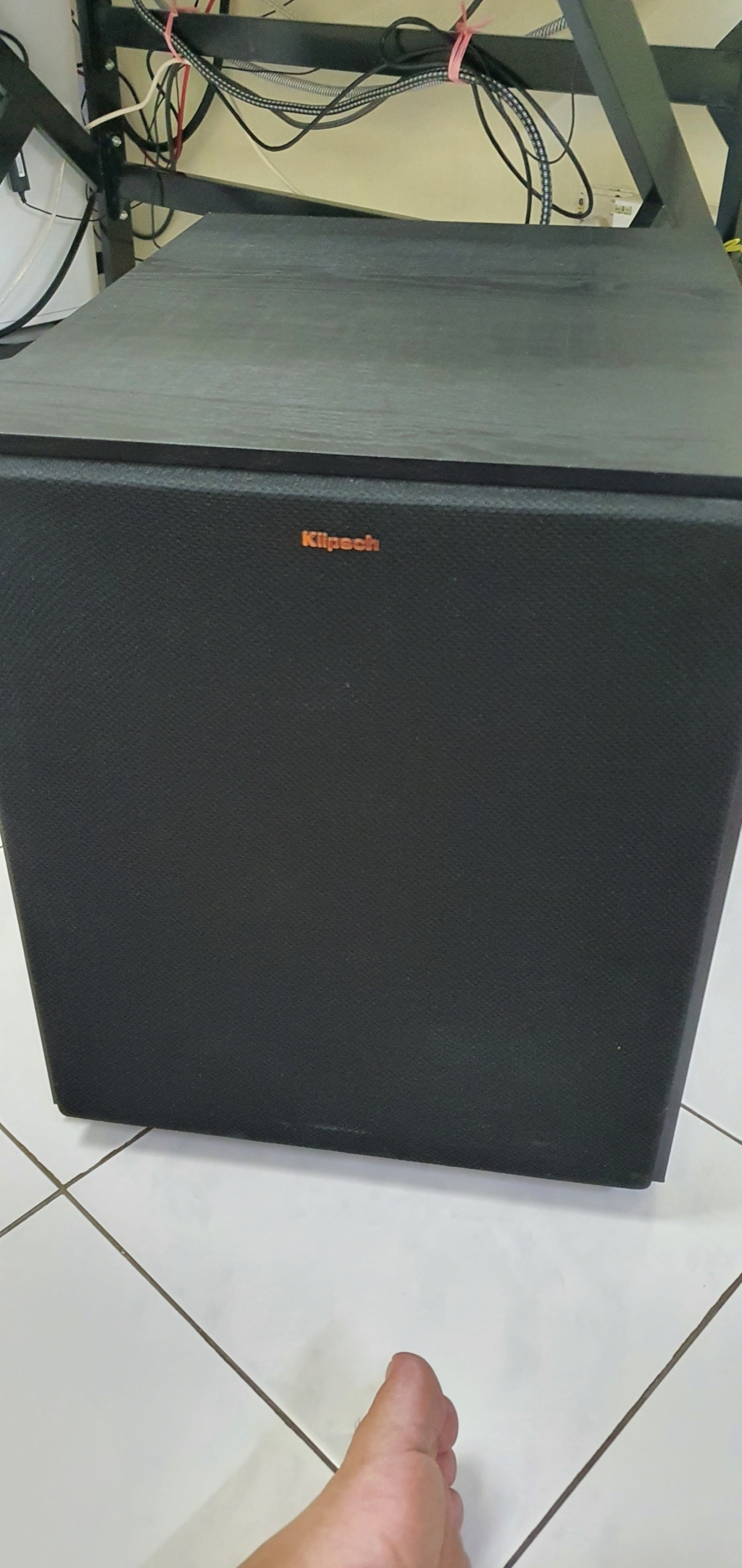 Klipsch R-120SW Subwoofer (under warrenrty) 20210410