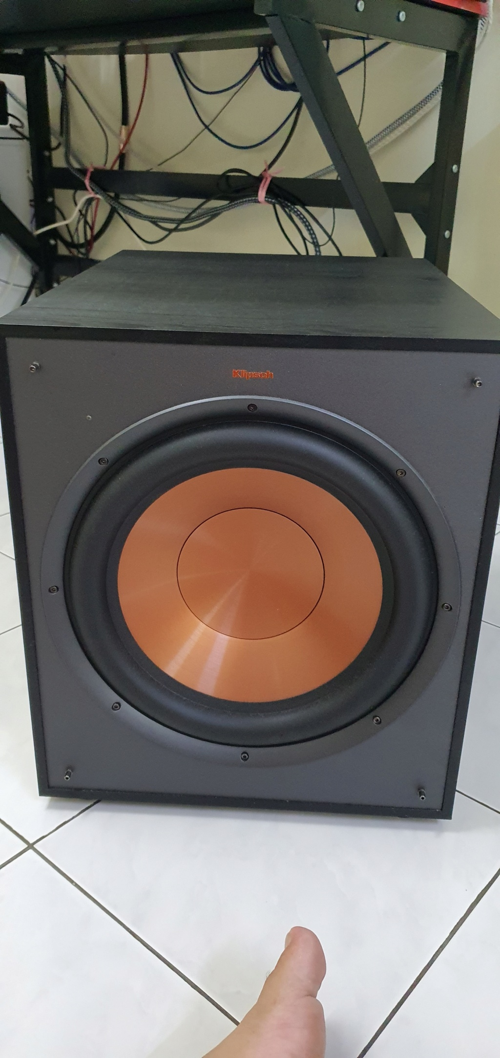 Klipsch R-120SW Subwoofer (under warrenrty) 20210411