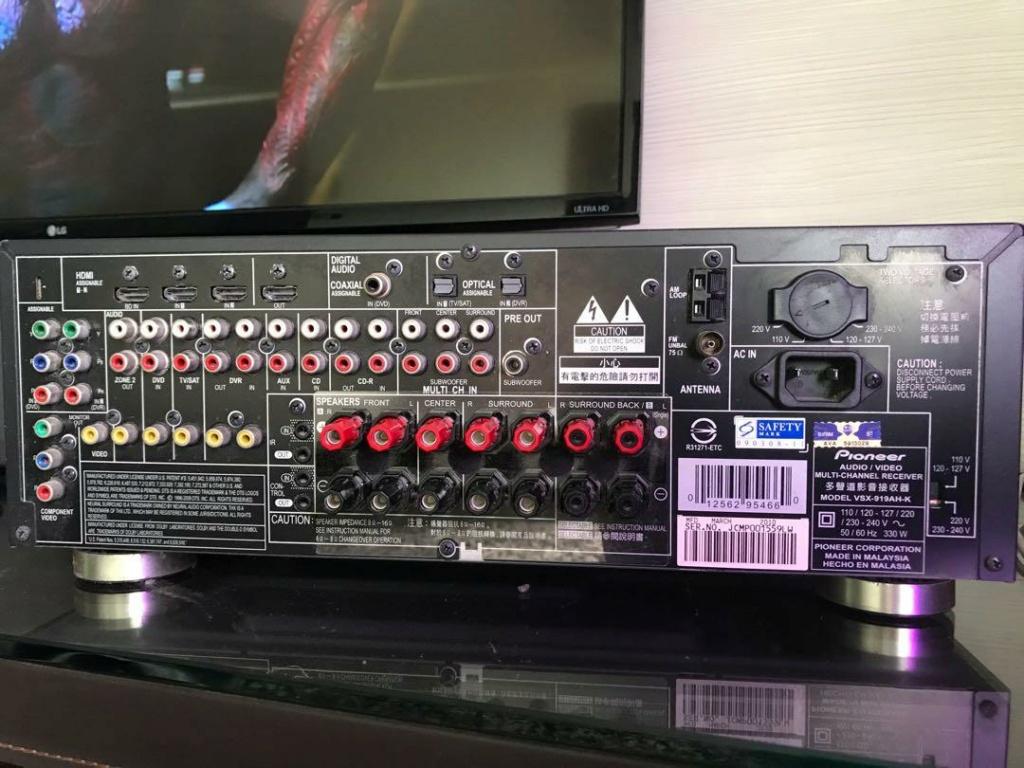 Pioneer AVR 7.1ch VSX-919AH Pionee10