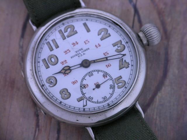 Les montres des signal corps américains en 1918 3rode10
