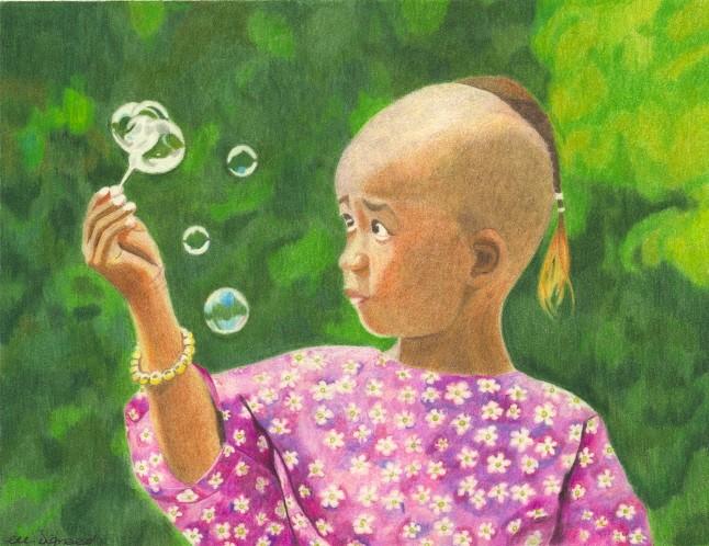 L'enfant aux bulles Bulles10