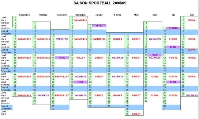 SPORBAL 2008-2009 Calend11