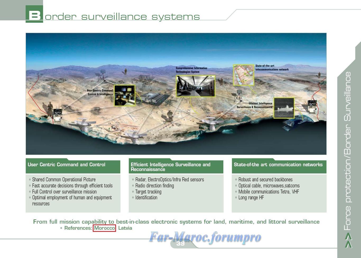Bataillons de Surveillance des Frontières  (BSF) - Système de Surveillance Électronique  (SSE) Borsur12