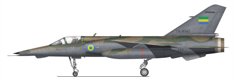 Armée du Gabon Mirage11