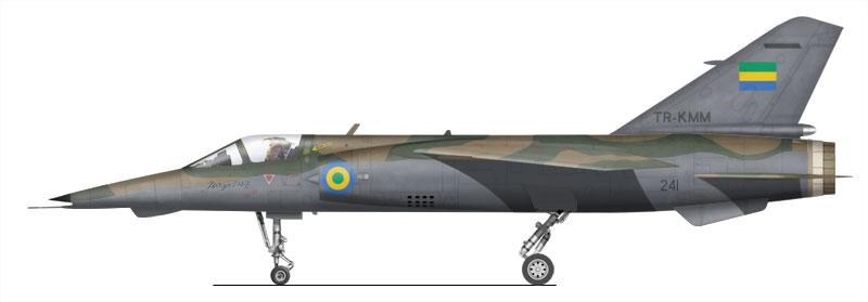 Armée du Gabon Mirage12