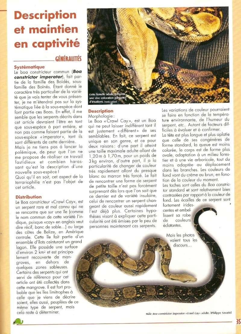 Crawl Cay : Europe / USA Numari11