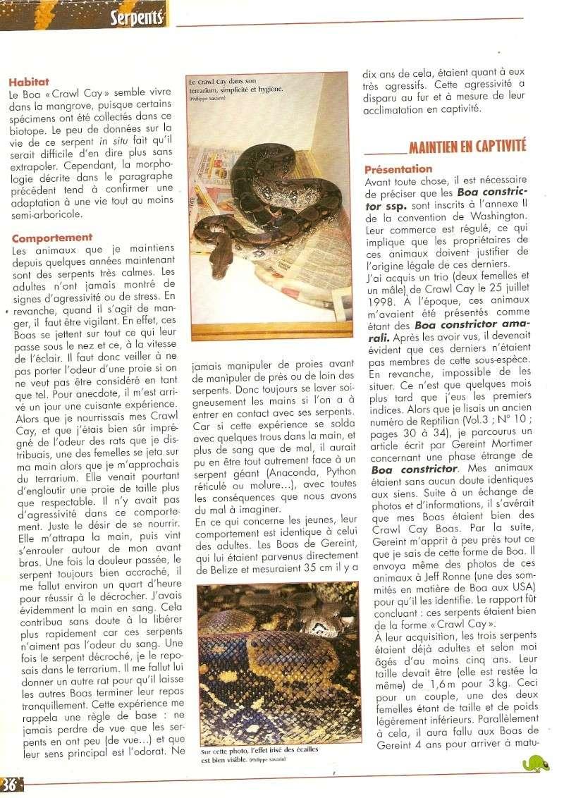 Crawl Cay : Europe / USA Numari12