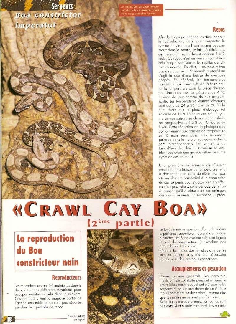 Crawl Cay : Europe / USA Numari14