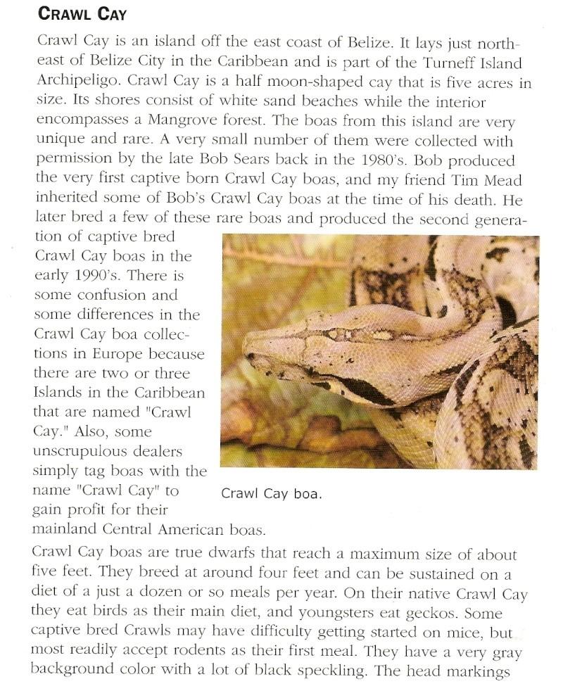 Crawl Cay : Europe / USA Numari17