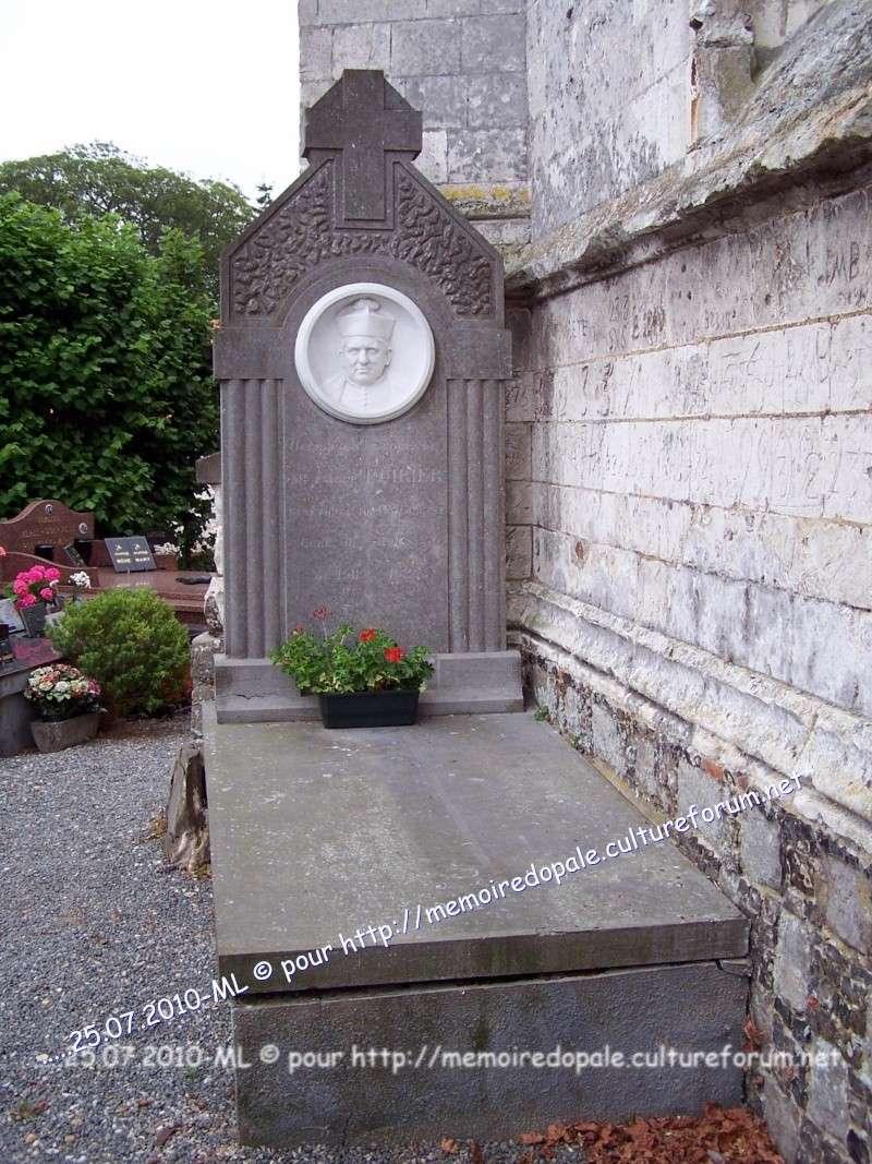 Tombe POIRIER, curé de Saint-Josse de 1911 à 1924 08416