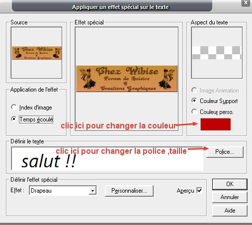 L'Effet Texte Change10