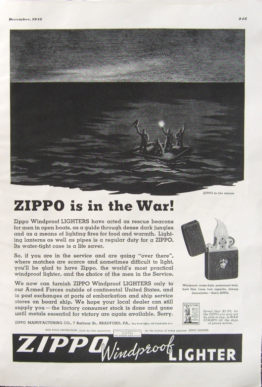 Vieilles Pub Zippo - Page 2 1942_p10