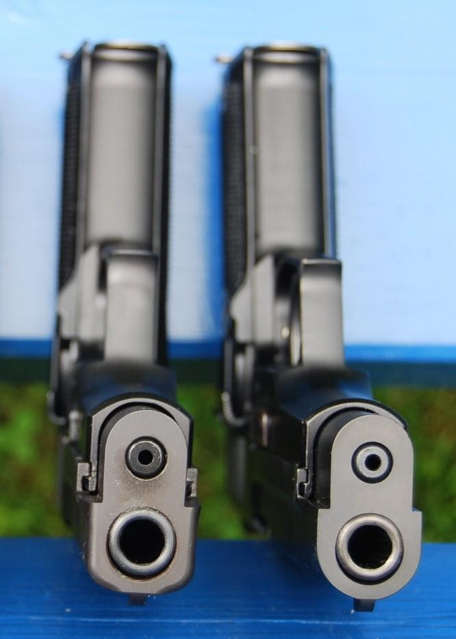 Armes de poing suisses du XXème siècle,  P06, P49 (P210), P75 Dessou16
