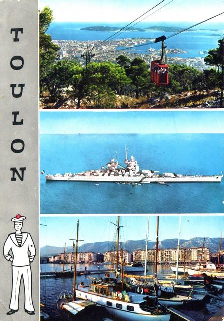 [Les ports militaires de métropole] TOULON au début des années 60 - Page 4 D_01510