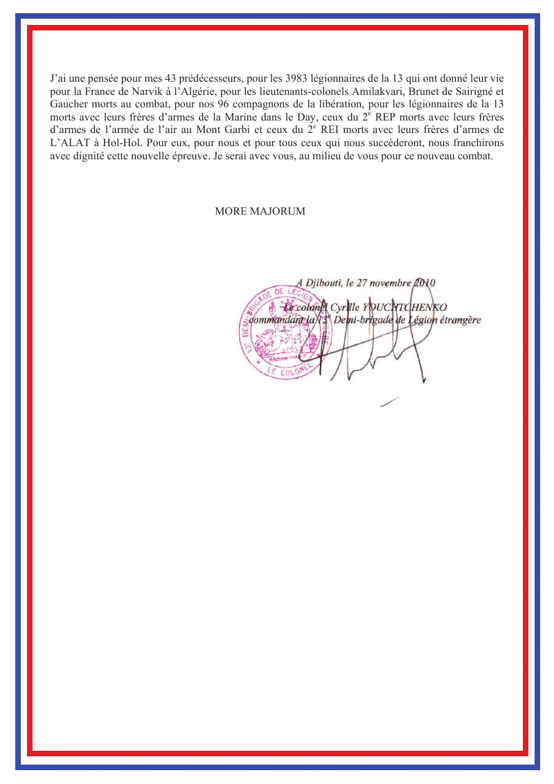 La 13 DBLE va quitter Djibouti - Page 3 13a_db11