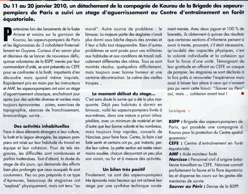 BSPP au CEFE 222
