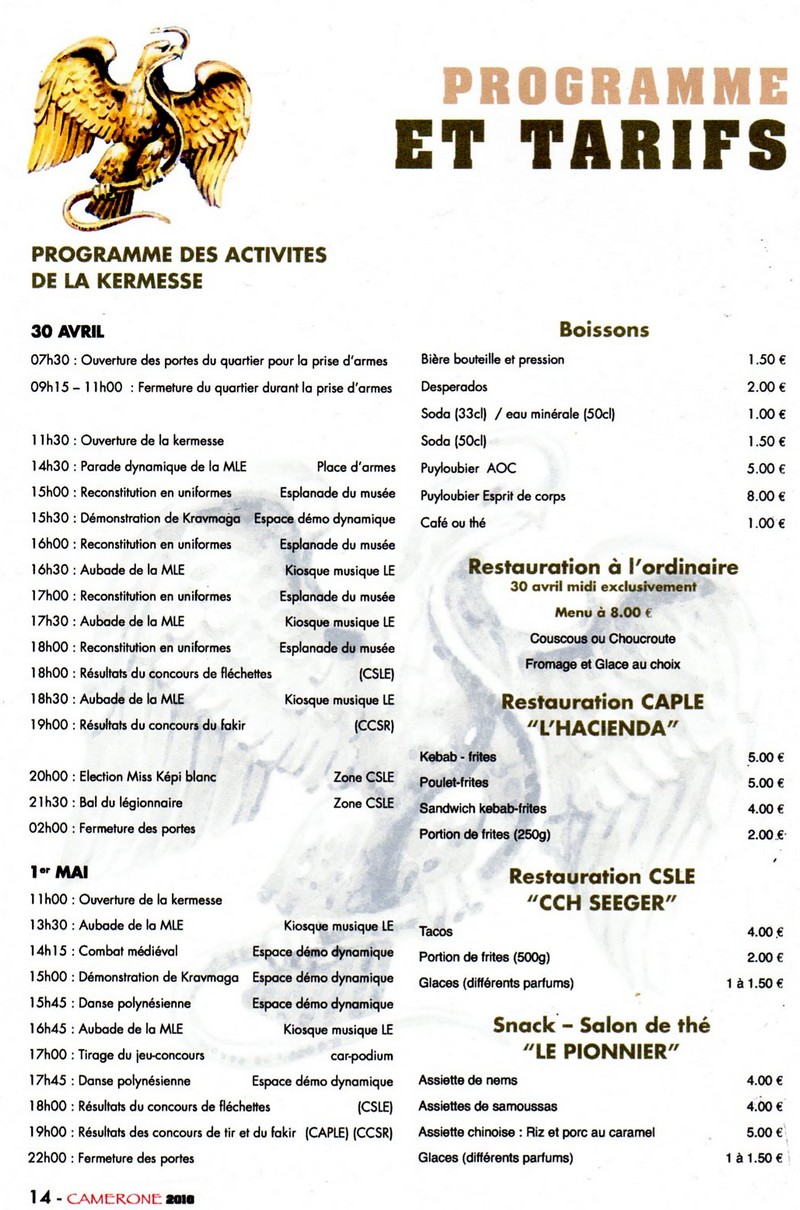 CAMERONE  2010  AUBAGNE Progra10