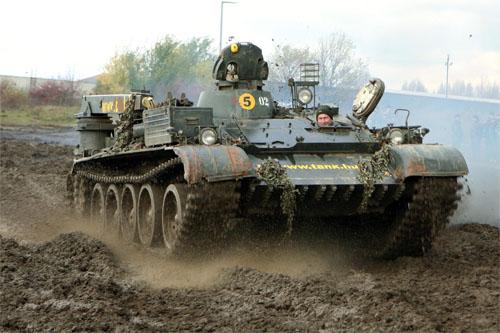 pour les cavaliers T-55-a10
