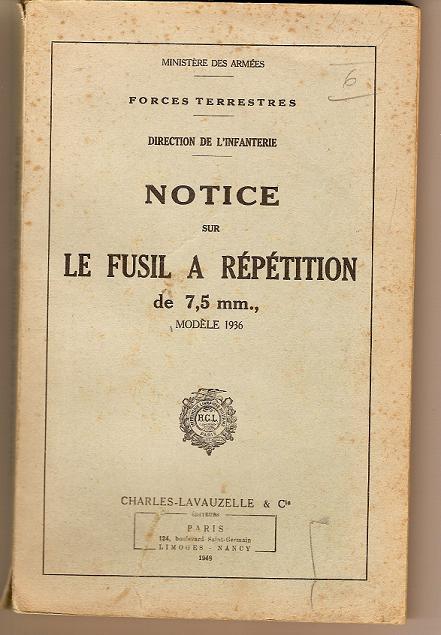 DIVERSES NOTICES DE  REGLEMENTAIRE Scn00016