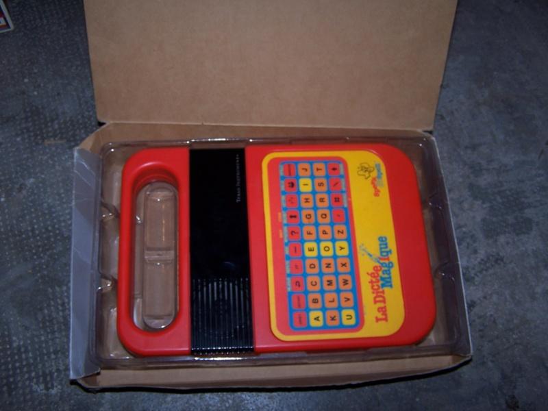 La dictée magique - Speak & Spell - Texas Instrument 100_4812