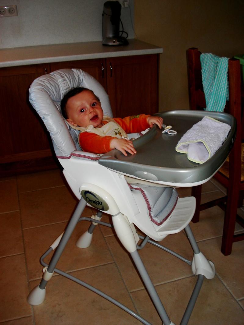 Chaise haute bébé OMEGA Bébé Confort Dsc04111