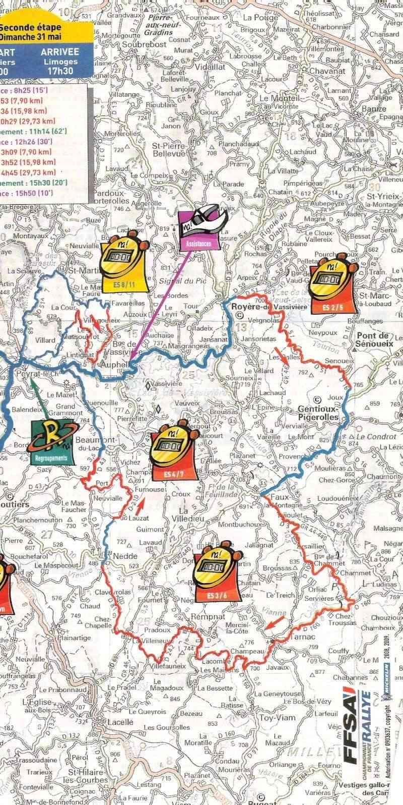 Rallye Région Limousin 2009 - Page 2 Numari18