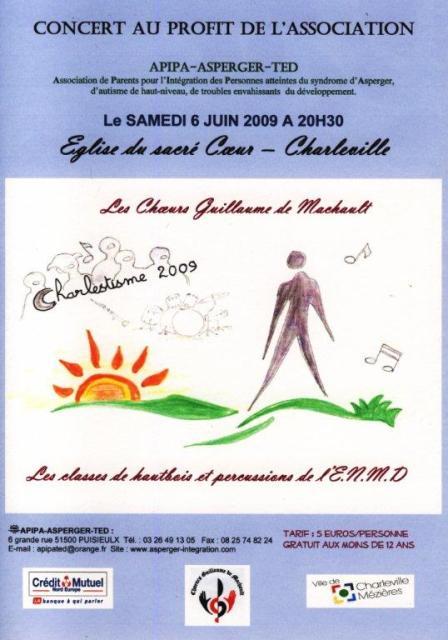 CONCERT G DE MACHAULT 06/06/2009 Affich12
