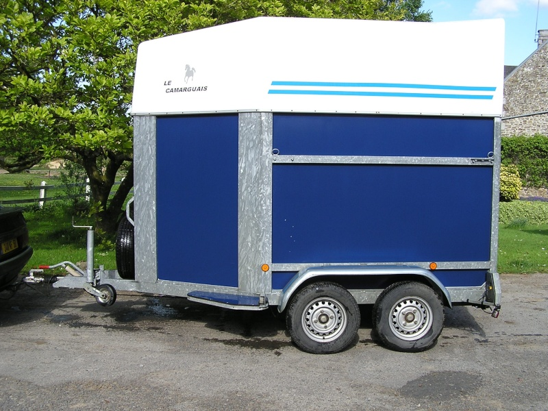 2 Horse trailer - 2004 ( French Manufacturer ) Dept 50 Van_an10