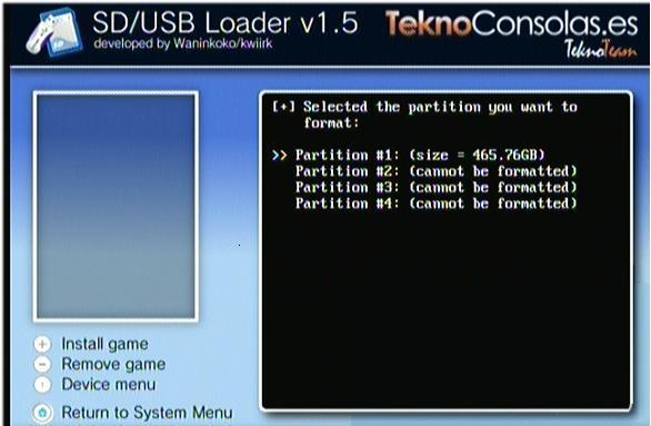 usb loader 1.5 download wii