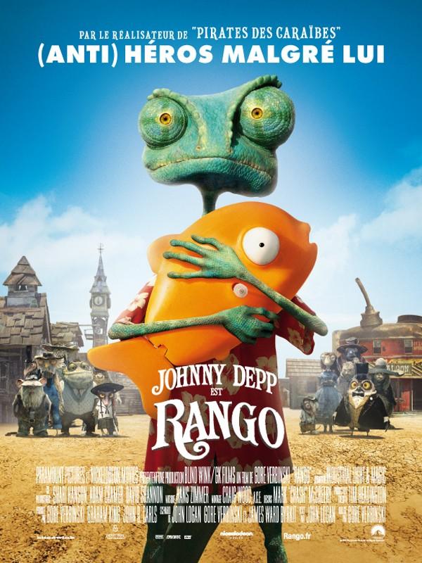 RANGO - Paramount/Nickelodeon Movies - 23 mars 2011 - Affich11