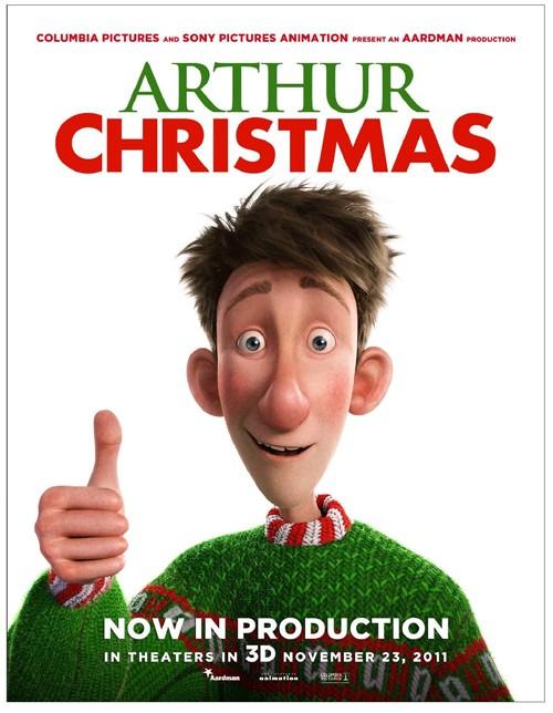 ARTHUR CHRISTMAS - Aardman/Sony - 23 Novembre 2011 - Arthur13