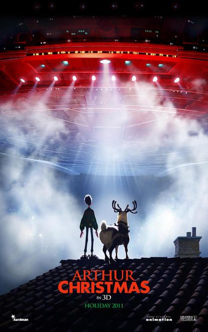 ARTHUR CHRISTMAS - Aardman/Sony - 23 Novembre 2011 - Arthur14