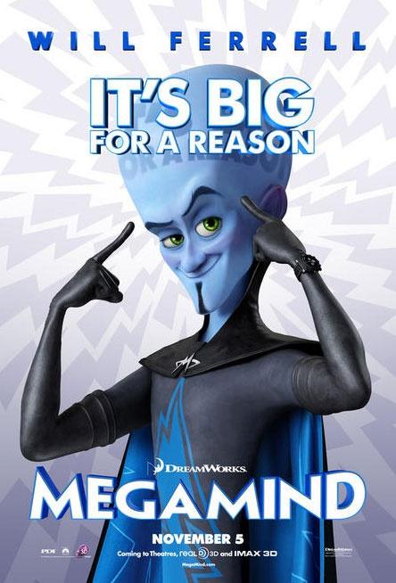 MEGAMIND - USA - 05 novembre 2010 - Megami13